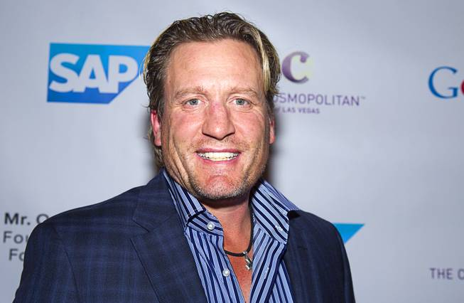 Former NHL player Jeremy Roenick arrives for Reggie Jackson's 8th ...