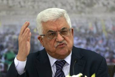 Overshadowed by last week's showdown between the U.S. and North Korea, Palestinian President Mahmoud Abbas issued an ominous warning in his address to the United Nations: With ...