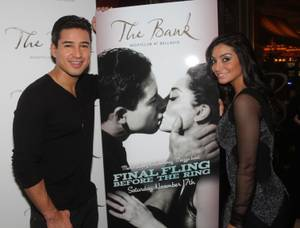 Mario Lopez and Courtney Mazza: Final Fling Before the Ring