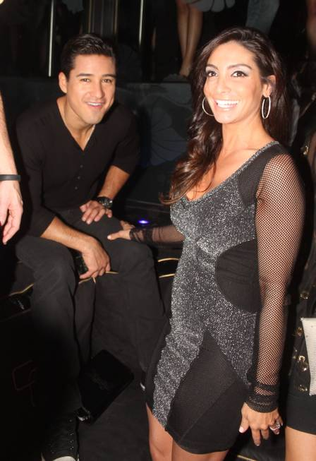 Mario Lopez and Courtney Mazza's