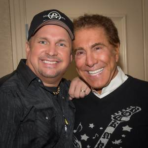 Garth Brooks and Steve Wynn backstage at Encore Theater in the Wynn before Brooks' final performance Saturday, Nov. 17, 2012.