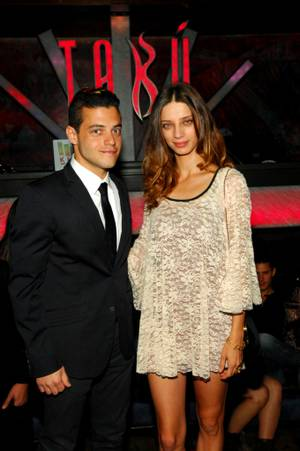 'Twilight' Stars Angela Sarafyan, Rami Malek at Tabu