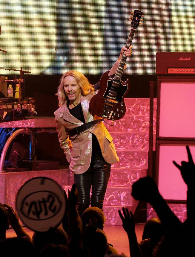 Styx at the Pearl at the Palms on Friday, Nov. 16, 2012.