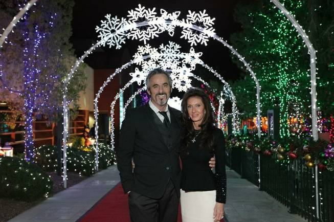 On Nov. 15, golf professional David Feherty and wife Anita took in the sights at Opportunity Villages annual Camelot fundraiser.