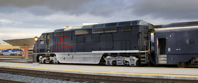 "The ""X"" Train by Las Vegas Railway Express."