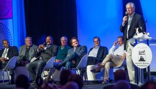 Tony La Russa's inaugural Leaders and Legends Gala hosted by George Lopez and featuring La Russa, Louis Zamperini, ,Jim Brown, Bob Gibson, Dennis Eckersley, George Brett, John Havlicek, Don Nelson, Bobby Knight, Joe Torre and more at MGM Grand on Friday, Nov. 16, 2012.