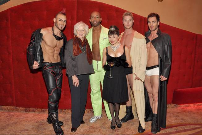 "Betty Buckley at ""Zumanity"" in New York-New York on Friday, Nov. 16, 2012."