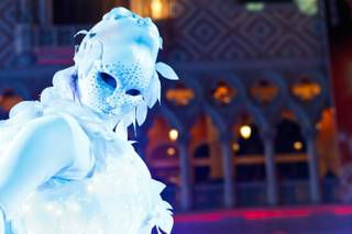 The opening celebration of Winter in Venice at The Venetian and The Palazzo Las Vegas, Tuesday, Nov. 20, 2012.