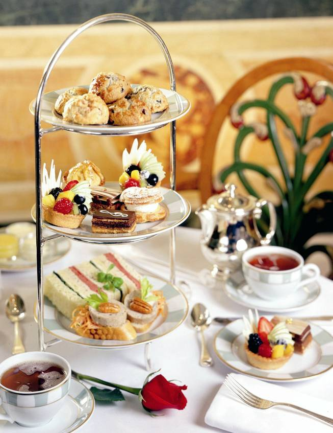 The Petrossian bar at the Bellagio offers afternoon tea from 1 to 4 p.m. daily.