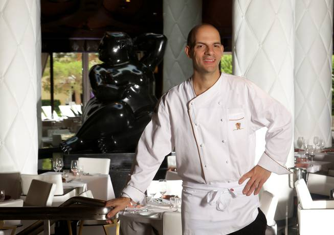 Mark LoRusso of Botero in Encore Las Vegas.