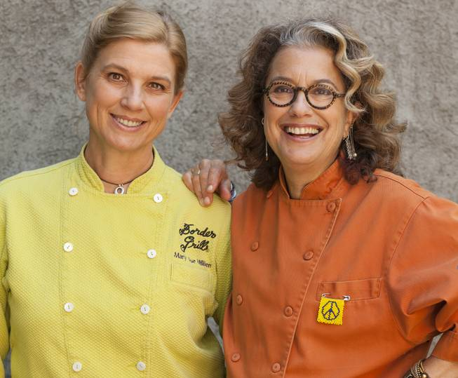Mary Sue Milliken and Susan Feniger of Border Grill at Mandalay Bay.