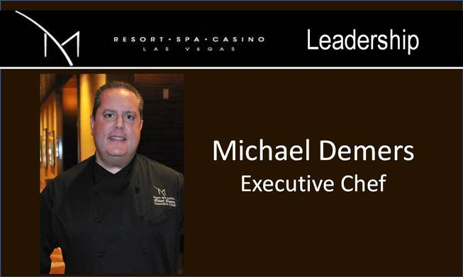 Michael Demers of the M Resort.