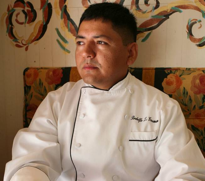 Rodolfo Guzman of Jaleo in the Cosmopolitan of Las Vegas.
