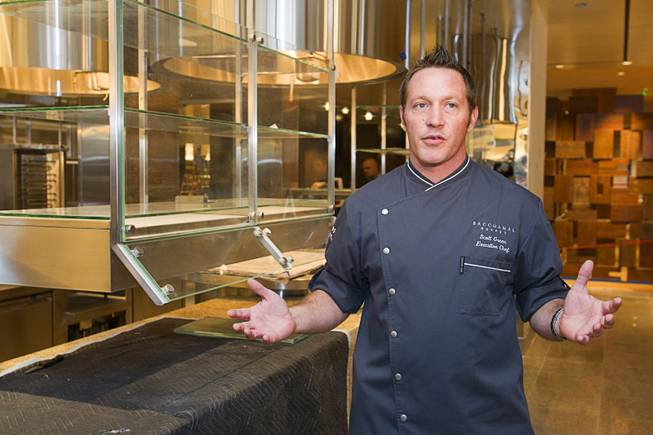 Scott Green of Bacchanal Buffet at Caesars Palace.