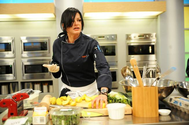"Las Vegas chef Carla Pellegrino competes on Season 10 of Bravo's ""Top Chef"" in Seattle."