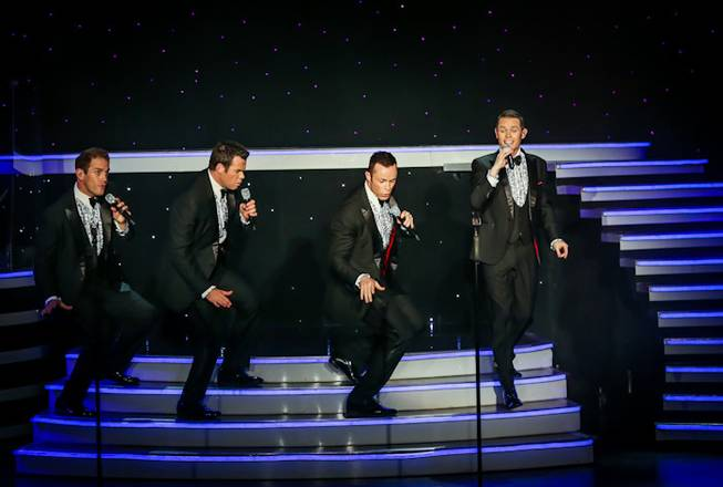 Human Nature's final show at Imperial Palace on Sunday, Nov. 25, 2012.