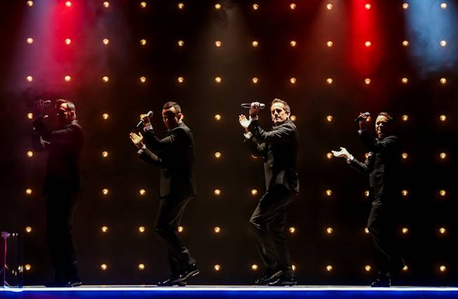 Human Nature's final show at Imperial Palace on Sunday, Nov. ...