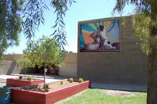 The Clark County Centennial Mural,
