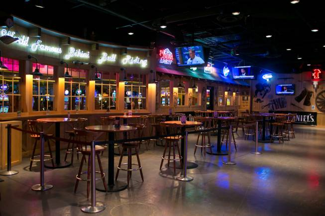 A look at Gilley's Las Vegas, the country-western bar and restaurant inside Treasure Island, Thursday, Nov. 29, 2012.