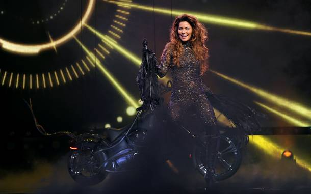 Opening night of Shania Twain's