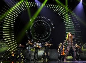 "Opening night of Shania Twain's ""Still the One"" at the Colosseum in Caesars Palace on Saturday, Dec. 1, 2012."