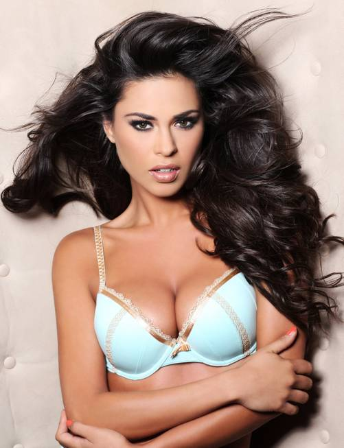 Miss Bolivia's lingerie portrait by Fadil Berisha for the 2012 ...