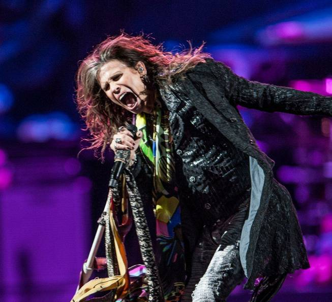 "Aerosmith's ""The Global Warming Tour!"" at MGM Grand Garden Arena on Saturday, Dec. 1, 2012."