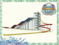 A rendering of the Zuma Zooma attraction for the Cowabunga Bay Las Vegas water park.
