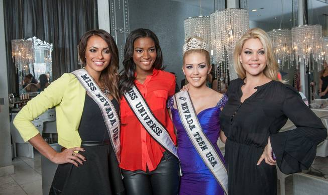 2012 Miss Universe Pageant contestants and 2013 Miss Nevada USA ...