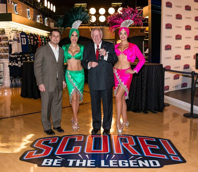 Former Mayor Oscar Goodman at the Score! Be the Legend ...