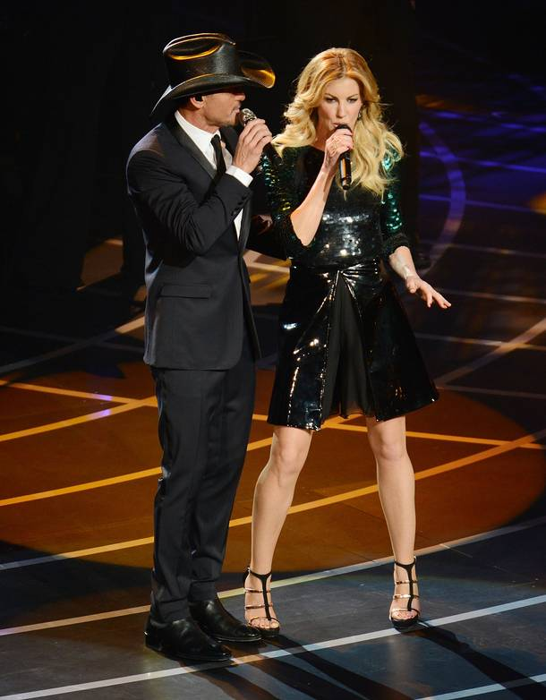 Tim McGraw and Faith Hill's