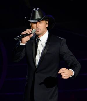 "Tim McGraw and Faith Hill's ""Soul2Soul"" at the Venetian on Saturday, Dec. 8, 2012."