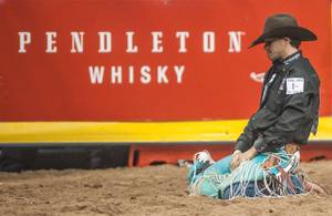 2012 Wrangler National Finals Rodeo: Day 1