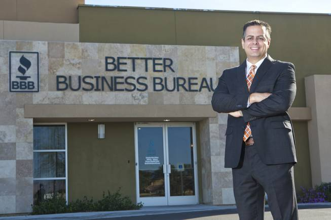 CEO of the Las Vegas Better Business Bureau George Cartwright
