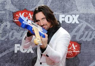Jake Owen at the 2012 American Country Awards at Mandalay Bay on Monday, Dec. 10, 2012.