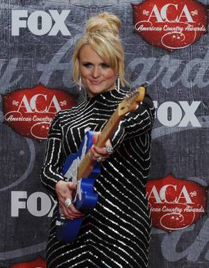 Miranda Lambert at the 2012 American Country Awards at Mandalay Bay on Monday, Dec. 10, 2012.