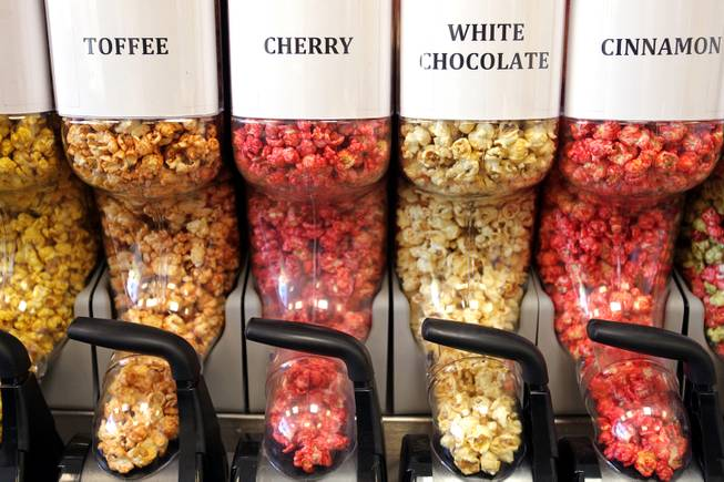 Angelicious Popcorn, owned by Bob Treska, offers a variety of popped treats.