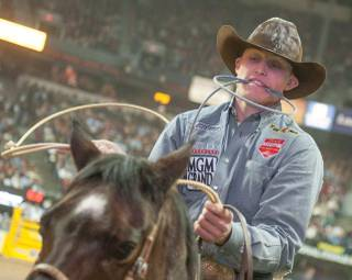 Day 6 of the 2012 Wrangler National Finals Rodeo at the Thomas & Mack Center on Tuesday, Dec. 11, 2012.