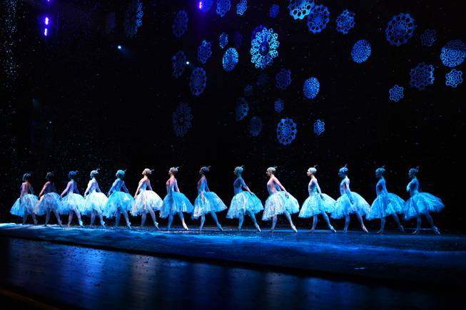 "Dancers perform during dress rehearsal for Nevada Ballet Theatre's ""The Nutcracker"" at the Smith Center in Las Vegas on Thursday, December 13, 2012."