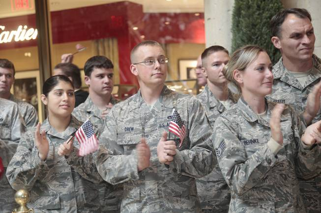 Salute Our Troops at the Venetian and Palazzo in December ...
