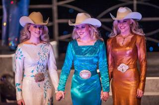 The 2012 Miss Rodeo America pageant at Hollywood Theater in MGM Grand on Wednesday, Dec. 12, 2012.