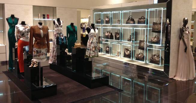 Roberto Cavalli is located on the first floor at City Centre.