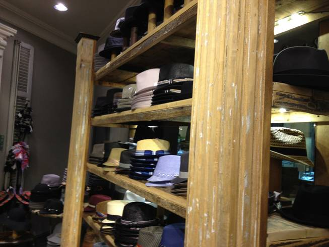 Chapel Hats is located in the Grand Canal Shoppes at the Venetian.