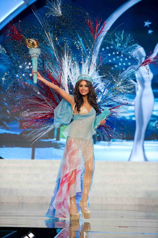 2012 Miss USA Olivia Culpo onstage for the 2012 Miss Universe National Costume Show at PH Live in Planet Hollywood on Friday, Dec. 14, 2012.