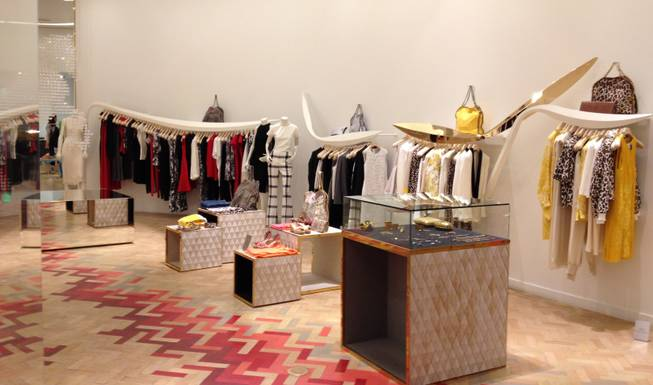 Stella McCartney is located on the second floor of City Center.