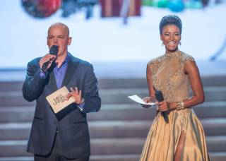 The preliminaries of the 2012 Miss Universe Pageant hosted by Chet Buchanan and 2011 Miss Universe Leila Lopes at Planet Hollywood on Thursday, Dec. 13, 2012.