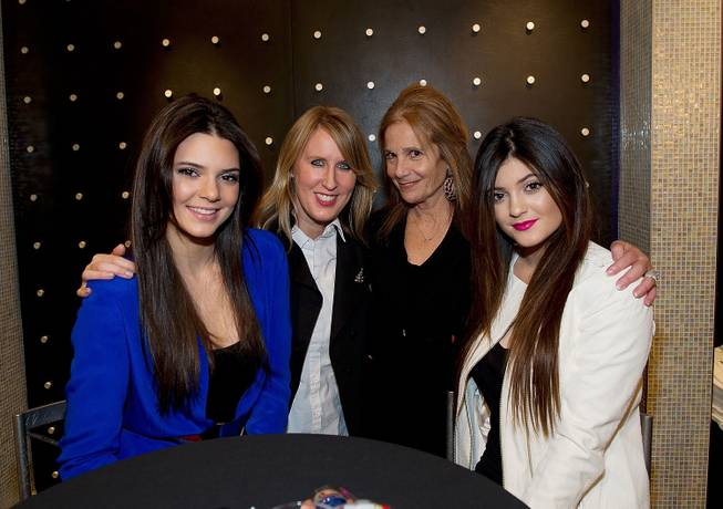 Kendall Jenner, Elizabeth Killmond-Roman, Cynthia Bussey and Kylie Jenner at ...