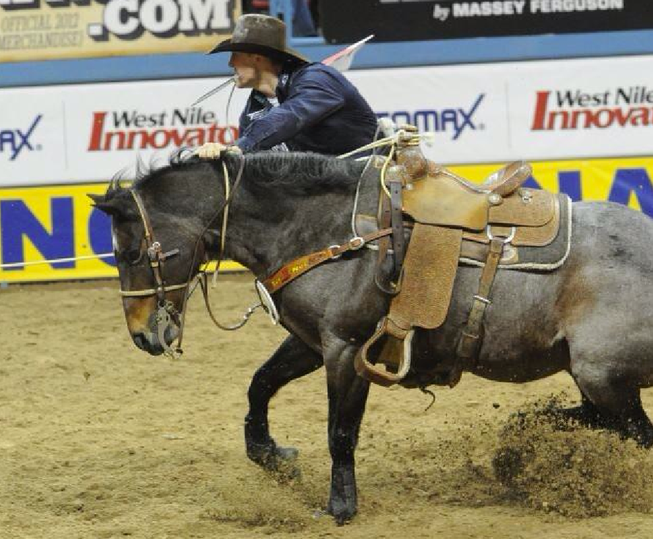Tuff Cooper wins second world title in tie-down roping