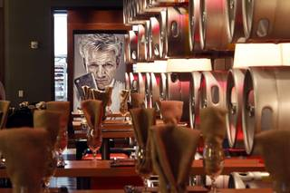 A view of the Gordon Ramsay Pub & Grill in Caesars Palace Monday, Dec. 17, 2012.