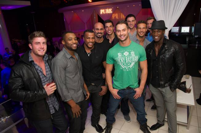 The 2013 Chippendales calendar release party at Pure in Caesars ...